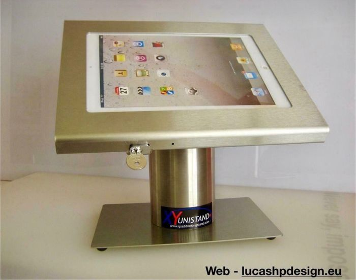 1 unistand Secure, Desktop tablet stand - Console (1) - With replacement box