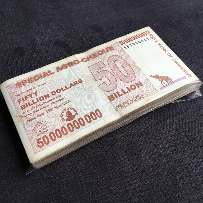 Zimbabwe - 100 x 50 Billion Dollar 2008 - Pick- 63