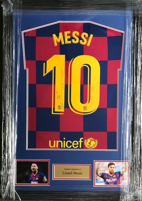 FC Barcelona - Champions Football League - Lionel Messi - Jersey