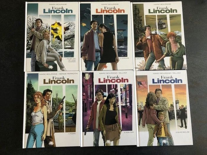 Frank Lincoln 1 t/m 6 - Volledige reeks - Hardcover - First edition - (2012/2014)