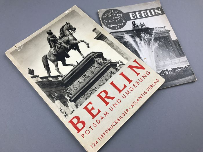 2 Photo Books About Pre Wwii Berlin 1936 Catawiki