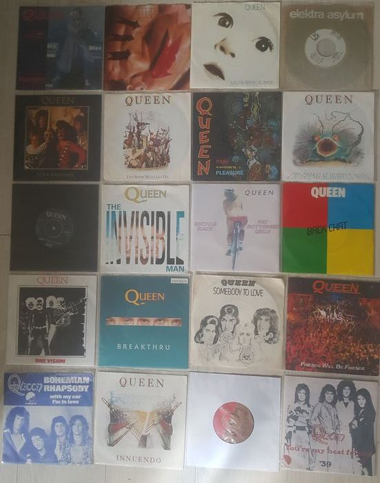 Queen - Multiple titles - 45 rpm Single - 1974/1991