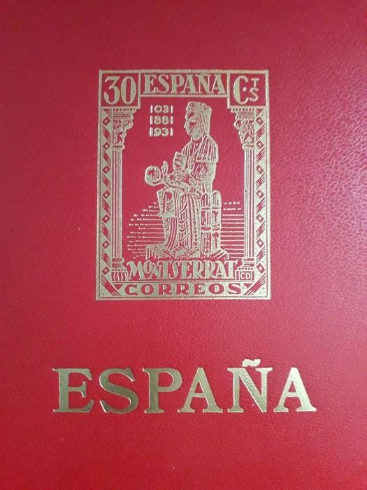 Spanien 1991/2000 - Complete collection of Spanish stamps with all stamps from sheet and booklets