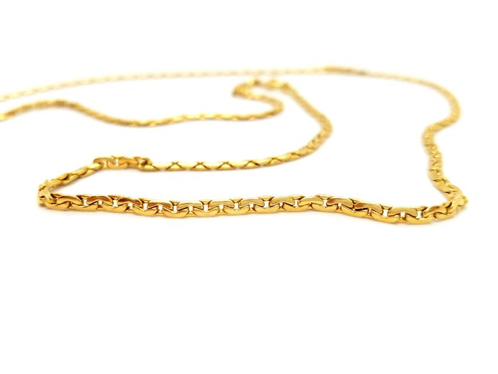 18 kts. Yellow gold - Necklace