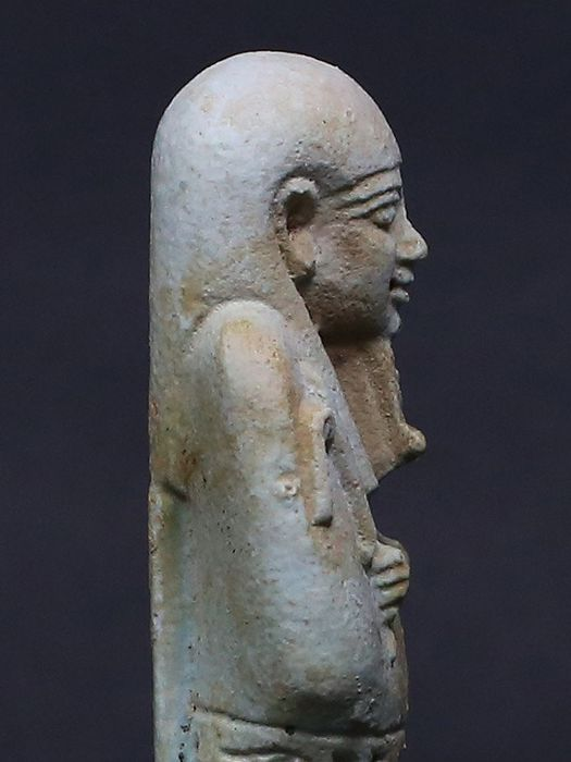 Ancient Egyptian Faience Shabti for the priest PA-DI-OSIR - 136×0×0 mm