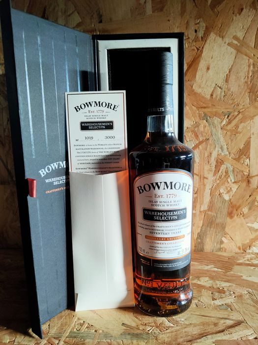 Bowmore 1999 17 years old Warehousemen's selection 1 - Original bottling - b. 2017 - 70cl