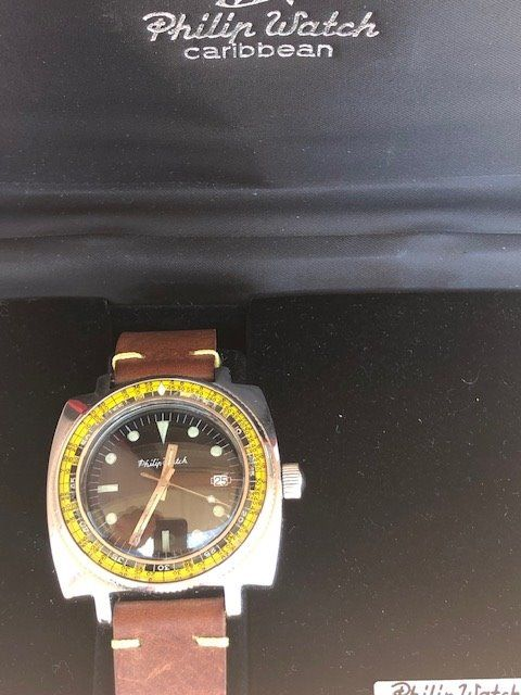 Philip Watch - Caribbean - 706 - Homme - 1960-1969