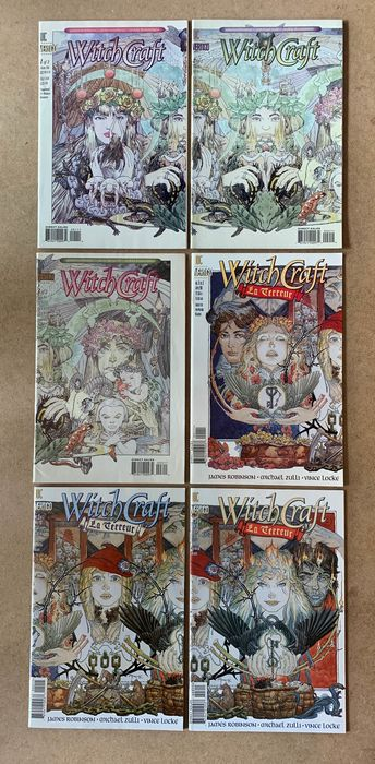 DC Gets Weird -43X -Collection of Complete Limited Series- Witchcraft, Witchcraft La Terreur, Names of Magic, Enigma, American Freak A Tale of the Un-Men, - Minx, Vertigo Verite The Unseen Hand, Skin Graft The Adventures of a Tattooed Man, Sebastian O - Broché - EO - (1993/2001)