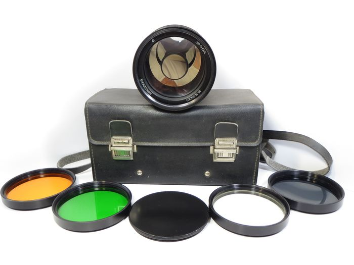 """LZOS  Ultra Rarely USSR mirror lens """"3M-6A"""" 6.3/500 (Maksutova) - for shooting astrological objects."""