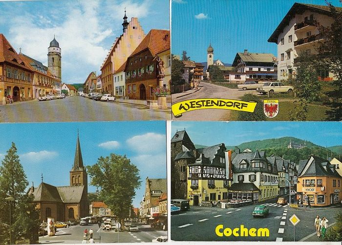 Miscellaneous - Postcards (Collection of 1232) - 1961-1990