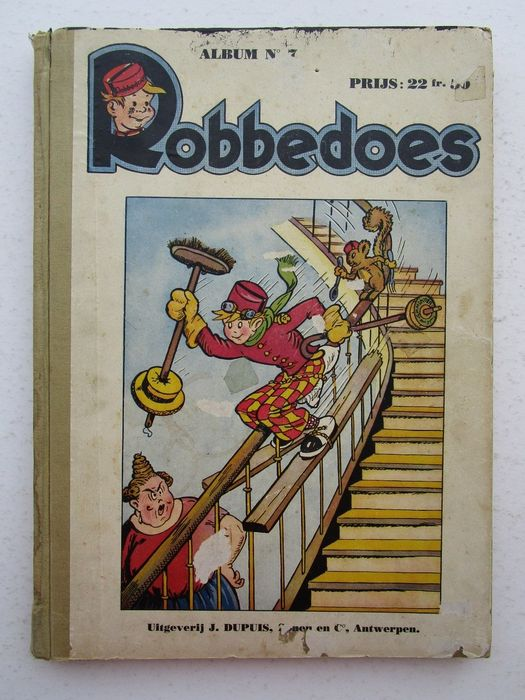 Robbedoes (magazine) - Robbedoes album 7 - Versie Robbedoes Ski - Hardcover - First edition - (1941)