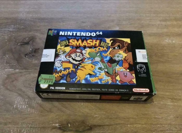 1 Nintendo 64- - Super Smash Bros  - Video games (0) - In original box