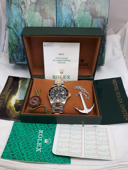 Rolex - SUBMARINER FULL FULL SET - REF.16613 NUNCA PULIDO - 男士 - 2000-2010