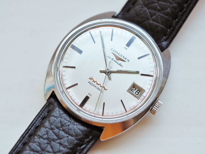 "Longines - Admiral Automatic - ""NO RESERVE PRICE"" - 8213 - Men - 1960-1969"