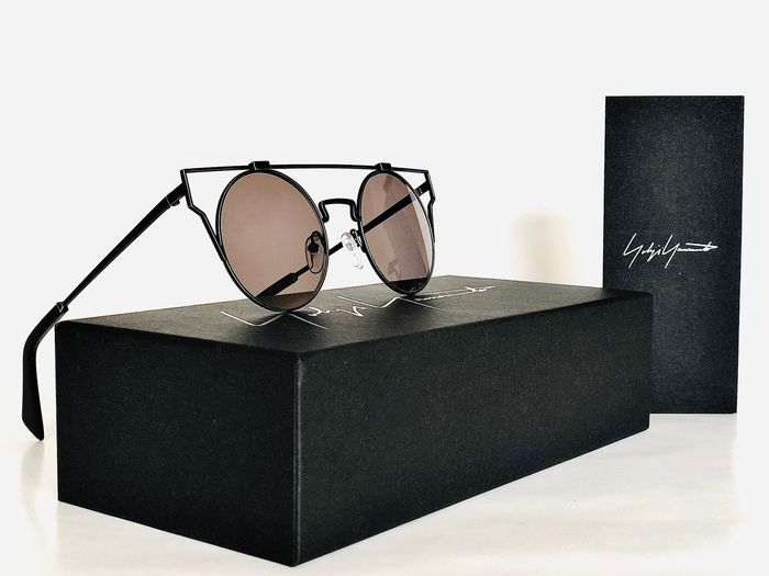 Yohji Yamamoto - YY 7024, Titanium, Cat.3, Style 914 Dirty Gun *Brand new & Unused, unisex Designer Sunglasses