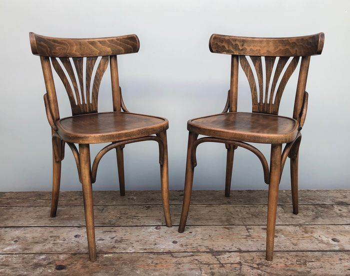 Chairs in Thonet Style - Wood