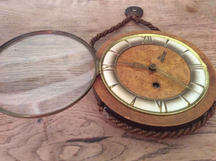 antique clock Piper Germany - Wood