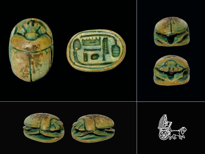 Ancient Egyptian Steatite Beetle
