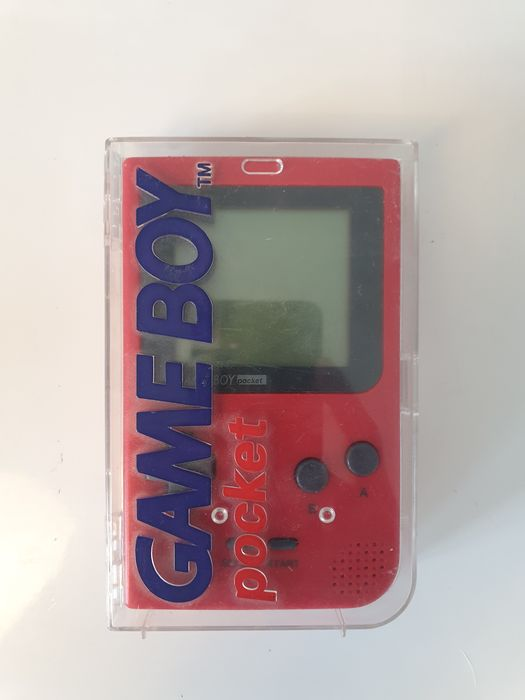 Nintendo Gameboy Pocket Fire Red Edition Boxed with Rare Nintendo seal +Unique serial#MH18668449 - Console - In original box