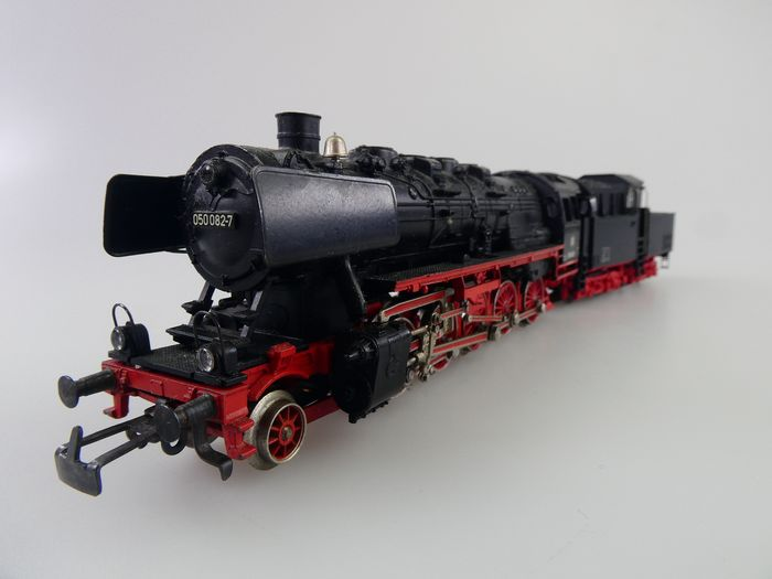 Märklin H0 - 3084 - Steam locomotive with tender - BR 50 with cabin tender - DB