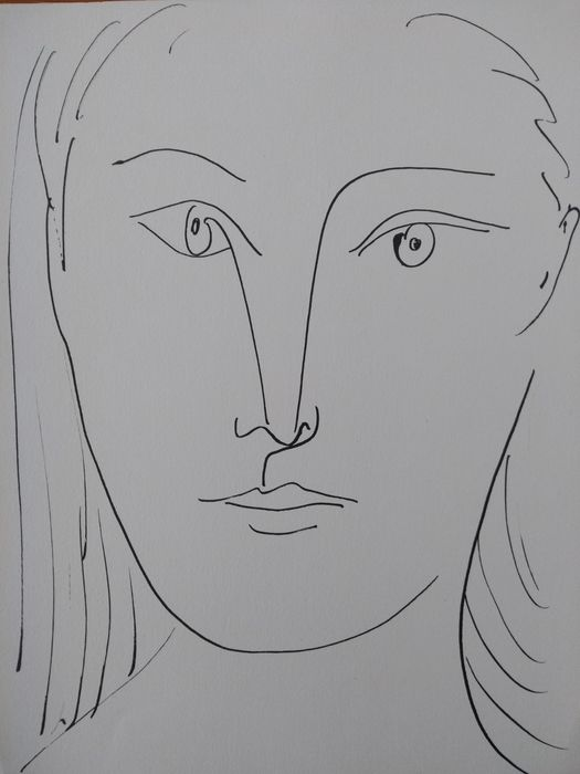 Pablo Picasso (1881–1973) - Portrait of a woman