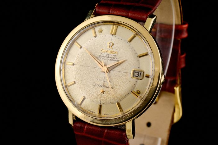 "Omega - Constellation Turler Pie Pan Chronometer Spider Dial - ""NO RESERVE PRICE"" - 168004-62 - Men - 1960-1969"