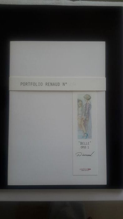 Renaud - Portfolio Ateliergalerieditions - Belle Opus 1  + crayonné original Croates - First edition - (2014)