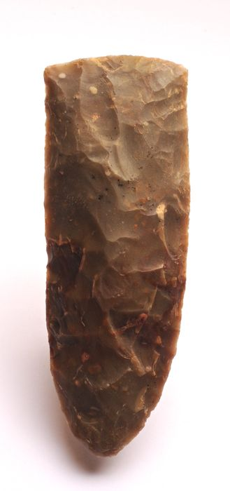 Prehistoric, Neolithic agate Large Neolithic ax 170 x 61 mm - (1)