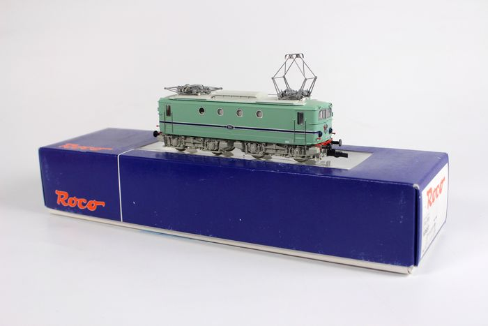 Roco H0 - 63657 - Electric locomotive - Series 1100, turquoise with blue stripe - NS
