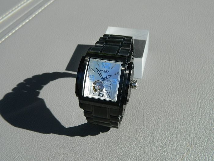 """Haaven - """"NO RESERVE PRICE""""  - 9314 -03  Automatic Special Edition Grey Dial - Heren - 2011-heden"""