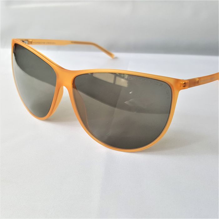 Porsche Design - Orange Gold Transparent RXP Frame Handmade - 2020 - Made in Italy - New Sunglasses