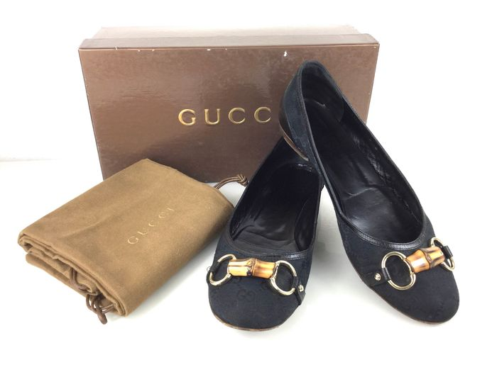 Gucci - Bamboo Ballerina shoes - Size: 9B