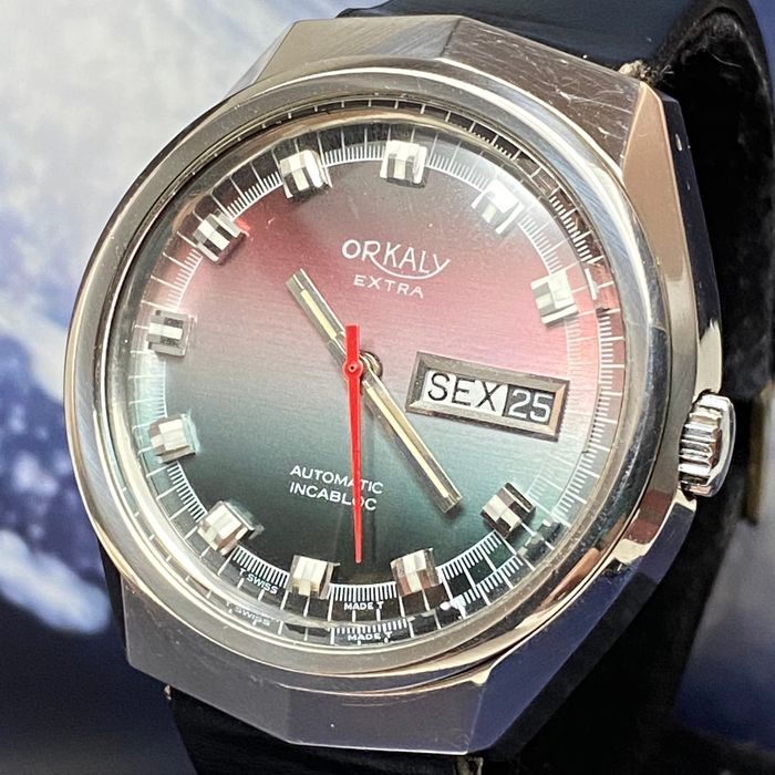 Orkaly - Vintage Extra Classic Automatic - 11227 - Men - 1970-1979
