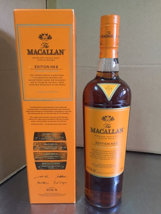 Macallan Edition No.2 - Original bottling - 750ml