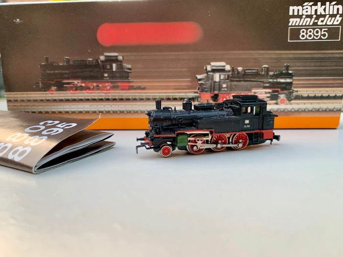 Märklin Z - 8895 - Steam locomotive - BR74 - DB