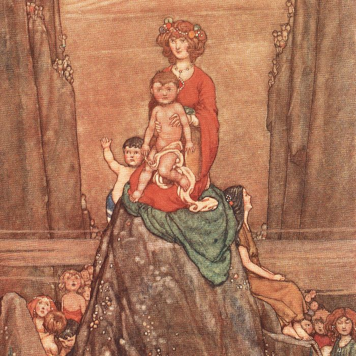 Charles Kingsley / W. Heath Robinson - The Water-Babies: A Fairy Tale for a Land-Baby - 1915