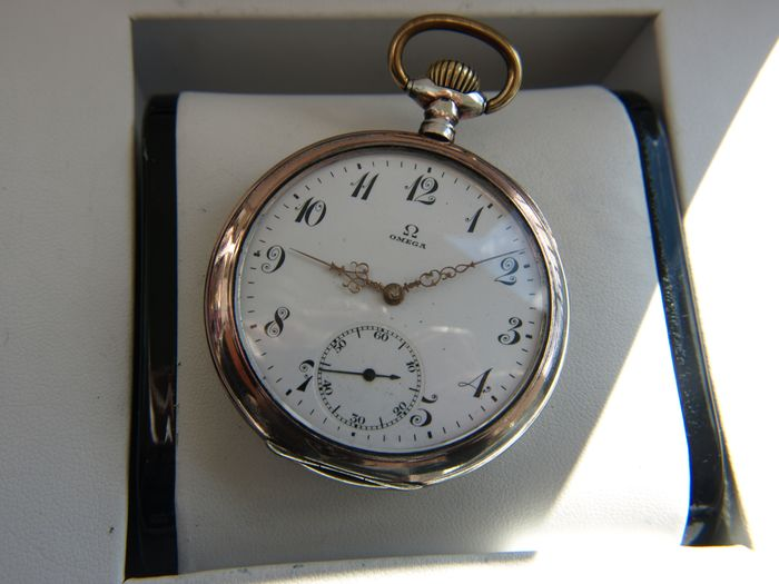 Omega - Silver  pocket watch  NO RESERVE PRICE - 5262006 - Herren - 1901-1949