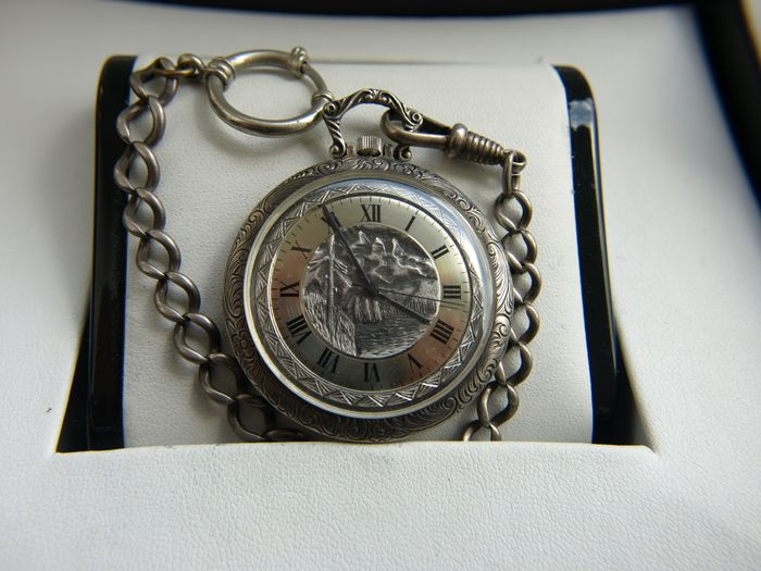 Aureore Watch  Swiss Made - pocket watch  NO RESERVE PRICE - Homem - 1960-1969