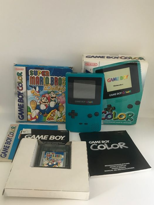 1 Nintendo Gameboy Color - Console with games (1) - In original box