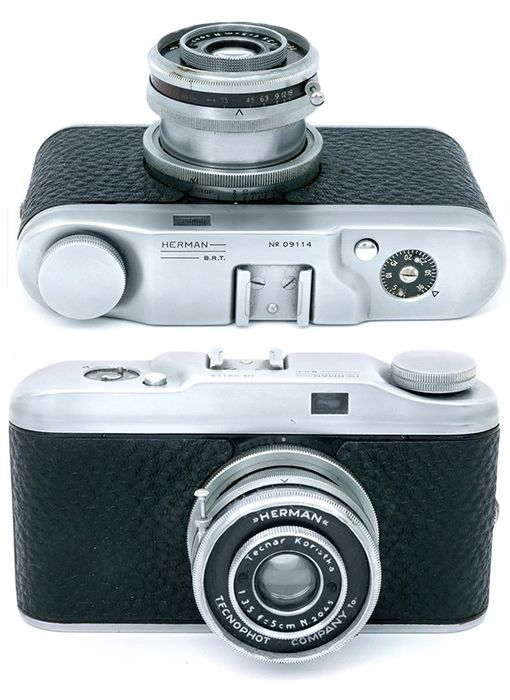 Fototecnica Herman italian camera Leica copy made in Italy.