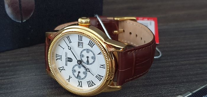 Riedenschild Germany - Luxury automatic classic  glass back   + free omega style strap - Men - 2011-present