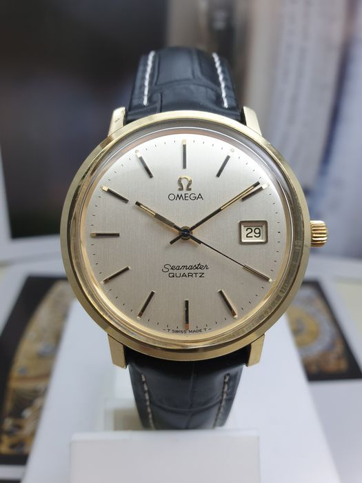 Omega - Seamaster - Cal.1342- Gold/Steel - Large Case - 196.4008 - Men - 1970-1979