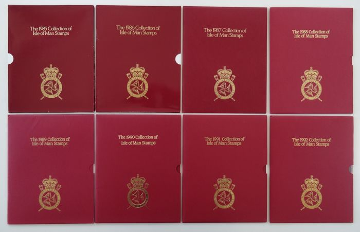 Man 1985/1992 - Collection of official year sets