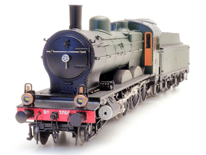 Artitec H0 - 23.225.04 - Steam locomotive with tender - Series 3700 - With sound - NS