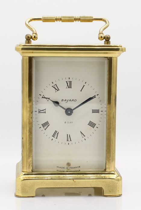 Bayard travel watch - Brass, glass - 20th century