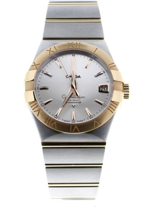 Omega - Constellation Co-Axial 38mm Steel/Red Gold - 123.20.38.21.02.001 - Unisex - 2020