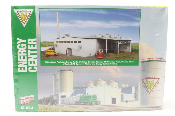 Walthers H0 - 933-2978 - Scenery - Building kit Energy Center