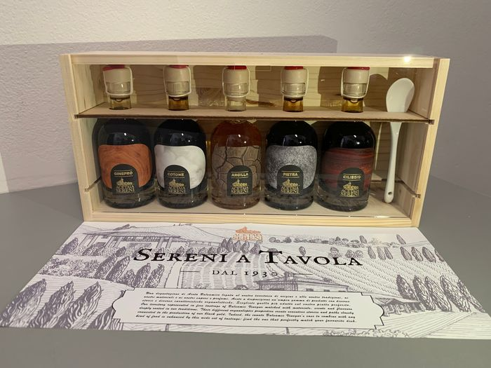 "'Tasting Box"" Acetaia Sereni - Balsamic vinegar - 5 - 5 x 100ml"