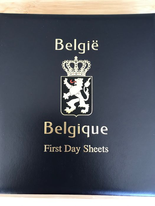 Belgium 1999/2019 - Collection of First Day Sheets complete in seven DAVO albums - OBP / COB