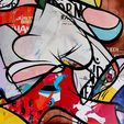 Street Art Auction (Urban Abstract)
